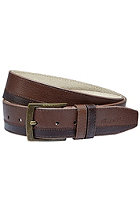 NIXON Stripe Belt chocolate
