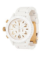 NIXON The 42-20 Chrono all white/gold