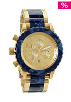 NIXON The 42-20 Chrono gold/ ryl grani