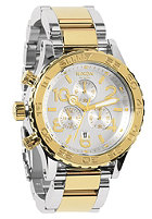 NIXON The 42-20 Chrono silver/chmp gld