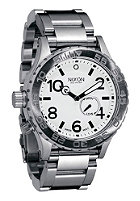 NIXON The 42-20 Tide white