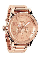 NIXON The 51-30 Chrono all rose gold