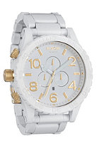 NIXON The 51-30 Chrono all white/gold
