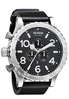 NIXON The 51-30 Chrono Leather black