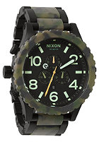 NIXON The 51-30 Chrono matte blck/camo