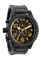 NIXON The 51-30 Chrono matteblack/oran