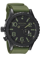 NIXON The 51-30 PU matte black/surplaid 