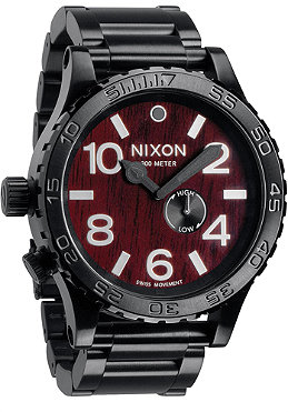 NIXON The 51-30 Tide dark wood/black