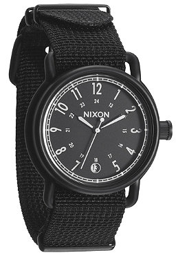 NIXON The Axe allblack nylon