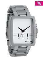 NIXON The Axis sandsteel/white