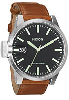 NIXON The Chronicle black/saddle