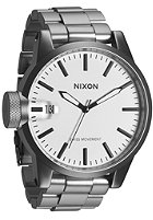 NIXON The Chronicle SS sandsteel white