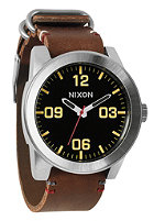 NIXON The Corporal black/brown