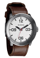 NIXON The Corporal silver/brown
