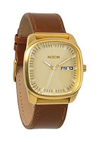 NIXON The Identity gold/saddle