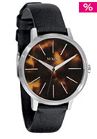 NIXON The Kensington Leather black/tortoise