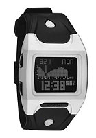 NIXON The Lodown black/white