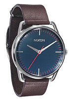 NIXON The Mellor navy/brown