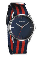 NIXON The Mellor navy/red nylon