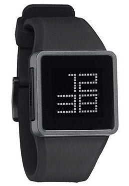 NIXON The Newton Digital black/grey