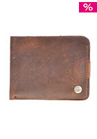 NIXON The Number Two Big Bill Tri-Fold Wallet aged brown