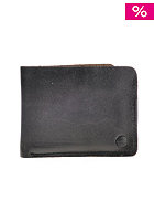 NIXON The Number Two Big Bill Tri-Fold Wallet black / tan