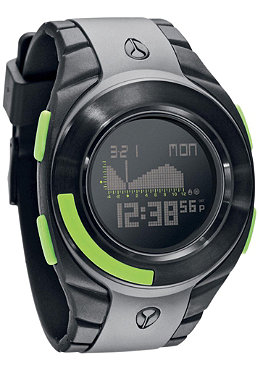 NIXON The Outsider Tide gray/black/lime