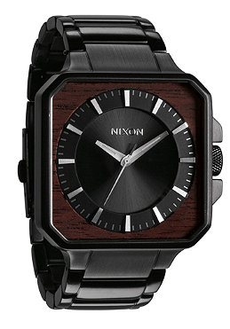 NIXON The Platform dark wood/black