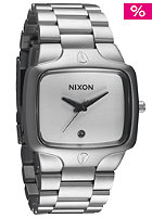 NIXON The Player sandsteel white