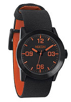 NIXON The Private all black/orange