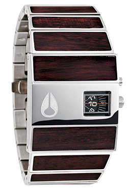NIXON The Rotolog dark wood