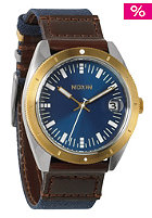NIXON The Rover II navy/brown/gold