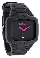 NIXON The Rubber Player all black/pink