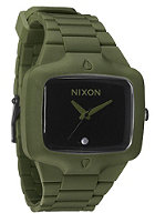 NIXON The Rubber Player matte black/surplus