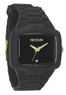 NIXON The Rubber Player matte black/gold