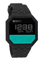 NIXON The Rubber Re Run black/teal