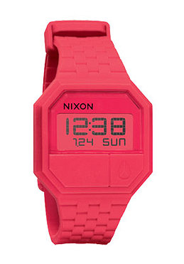 NIXON The Rubber Re Run coral