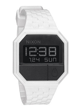 NIXON The Rubber Re Run white/black