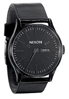 NIXON The Sentry Leather all black