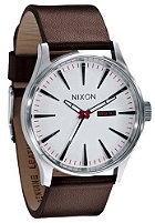 NIXON The Sentry Leather white