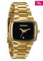 NIXON The Small Player raw gold/black