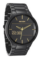NIXON The Spencer matte black/gold