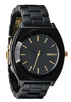 NIXON The Time Teller Acetate all black/gold