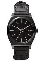 NIXON The Time Teller all black woven