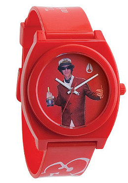 NIXON The Time Teller Beastie Boys red