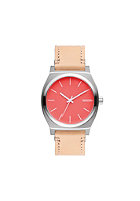 NIXON The Time Teller bright coral / natural