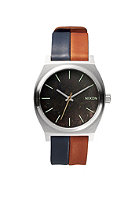 NIXON The Time Teller dark copper / navy / saddle