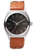NIXON The Time Teller dark copper / saddle woven