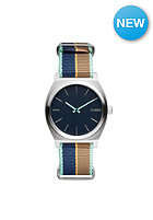 NIXON The Time Teller Navy / Navy Stripe