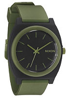 NIXON The Time Teller P matte black/surplus